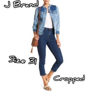 J Brand NEW Women's Size 31 Cropped Jeans